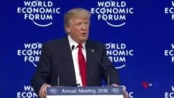 """川普在達沃斯為""""美國優先""""辯護 歡迎外來投資"""
