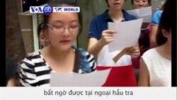 5 nhà hoạt động nữ quyền Trung Quốc được tại ngoại (VOA60)