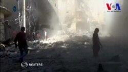 Llueven las bombas sobre Alepo