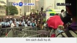 Ẩu đả xảy ra với những người biểu tình ở Hồng Kông
