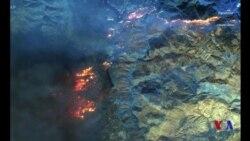 美國加州野火繼續蔓延喪生人數升至25人 (粵語)