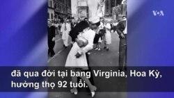 Nữ y tá trong bức ảnh lịch sử tại Times Square qua đời