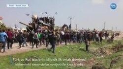Türk-Rus Ortak Devriyesine Protesto Engeli