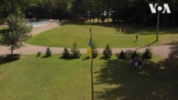 """Український дитячий табір """"Пласт"""" у США. Відео"""