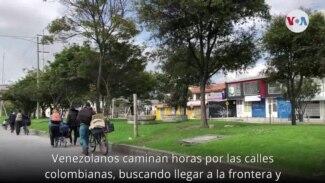 Oma Bolívar relata su aventura para poder regresar a Venezuela