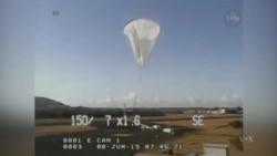 NASA Tests New Device for Mars Landings