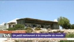 Un petit restaurant sud-africain nommé Restaurant de l'Année