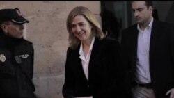 2014-02-09 美國之音視頻新聞: 西班牙公主涉嫌逃稅洗錢被傳召出庭
