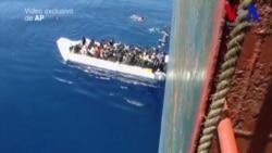 Rescate de migrantes