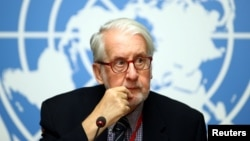 BM Suriye Araştırma Komisyonu Başkanı Paulo Pinheiro