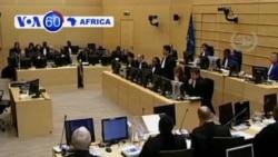 VOA60 Afirka - Satumba 10, 2013; Shugaban William Ruto Kenya a ICC a Hague