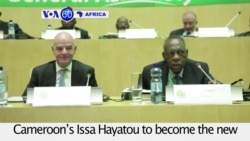 VOA60 Africa - Issa Hayatou Voted out as African Soccer Head after 29 years