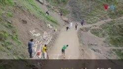 ایبٹ آباد میں پہاڑی پگڈنڈیوں پر کرکٹ ٹورنامنٹ