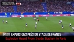 Video: Blast Heard Outside Paris Stadium