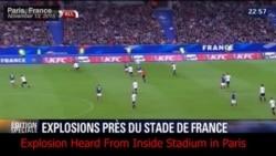 Video: Blast Heard Outside Paris Stadium