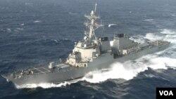 Tư liệu - Khu trục hạm phi đạn điều hướng của Hải quân Hoa Kỳ USS Barry
