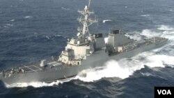 USS Barry, tàu khu trục có tên lửa dẫn đường của Mỹ.