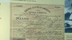 废除排华法70周年 美国历史博物馆展珍贵史料