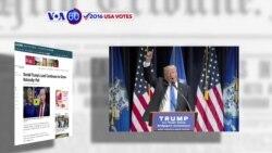 """Manchetes Americanas 3 Maio: Ted Cruz diz que Trump faz dos seus eleitores """"idiotas"""""""
