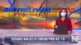 Laporan Langsung VOA untuk MetroTV: Sidang ke-76 Majelis Umum PBB