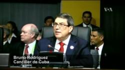 Fuertes palabras de Cuba hacia EE.UU. en Perú