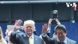 Lãnh đạo Mỹ-Nhật thị sát tàu sân bay trực thăng JS Kaga
