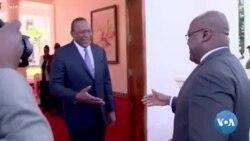 Retour sur la visite du président Tshisekedi au Kenya