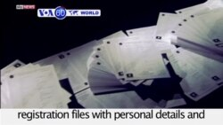 VOA60 World PM - Thousands of Stolen 'IS Files' Could Unmask Terrorists
