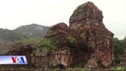 Những viên gạch cổ tháp Chàm