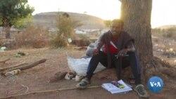 PV: Refugiado etíope ajuda crianças no Sudão através da arte