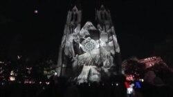 Prague ၿမိဳ႕ေတာ္က ဗီဒီယိုမီးအလွပြဲေတာ္