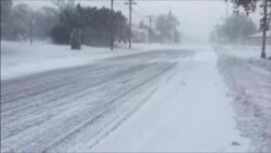 Tormentas de nieve paralizan las Dakotas