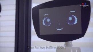 Հայաստանում ստեղծված Ռոբին Ռոբոտը ամերիկյան հիվանդանոցներում երեխաներին ժպիտ է պարգևում