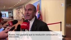 Elliott Abrams sobre crisis de Venezuela