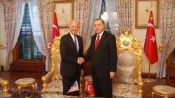 Biden Cumhurbaşkanı Erdoğan ile Görüştü