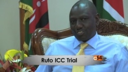 ICC and Ruto