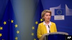Predsjednica Evropske komisije Ursula von der Leyen.