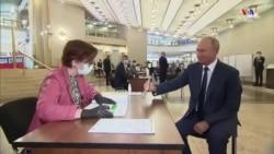 Պուտինը քվեարկեց ՌԴ սահմանադրական փոփոխությունների համար, ինչը թույլ կտա նրան պաշտոնավարել մինչև 2036 թիվը