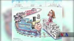 Підсумки року: політичні карикатуристи залишаються у небезпеці. Відео