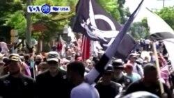 Manchetes Americanas 16 Agosto: Donald Trump voltou a comentar os protestos da extrema-direita em Charlottesville