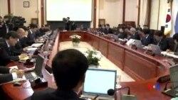 2014-04-29 美國之音視頻新聞: 南韓總統朴槿惠為渡輪事故道歉