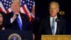Trump y Biden en reñida competencia por la Casa Blanca