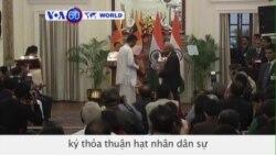 Sri Lanka, Ấn Độ ký thỏa thuận hạt nhân dân sự (VOA60)