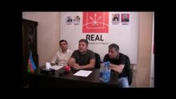 REAL Hərəkatı Natiq Cəfərlinin həbsi ilə bağlı mətbuat konfransı keçirib