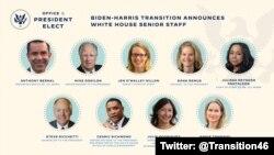 Biden White house seniors