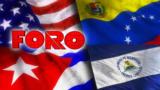 "Foro Interamericano: ""Troika de tiranías"", reto hemisférico de partidos"