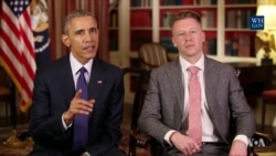 Obama, Macklemore Discuss Drug Addiction