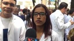 Protesta médicos Caracas