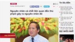 Việt Nam rút bài 'thủ phạm' khiến cá chết hàng loạt
