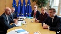 Pertemuan para pemimpin Uni Eropa di Brussels, Belgia (foto: ilustrasi).